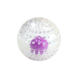 Nubbiez Treat & Squeaker Ball Pet Toy