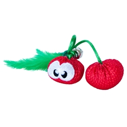 Dental Cherries, Catnip Chew Toys for Cats