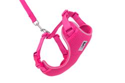 Adventure Kitty Harness - Raspberry