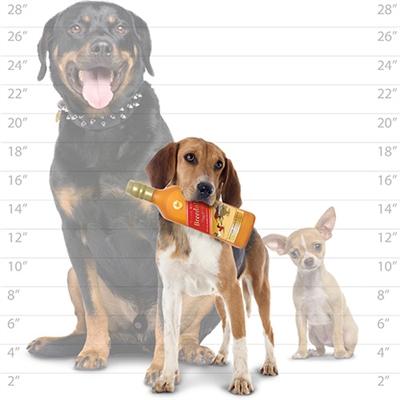 Silly Squeakers® Liquor Bottle - Doggie Walker