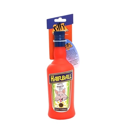 Silly Squeakers®  Liquor Bottle - Hairball