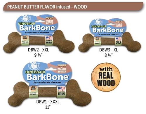 Dino Peanut Butter & Wood