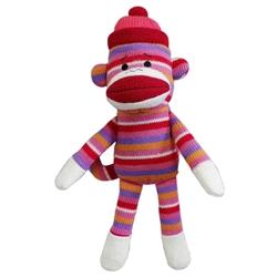 """Lulubelles - 11"""" Sock Monkey - Kat"""