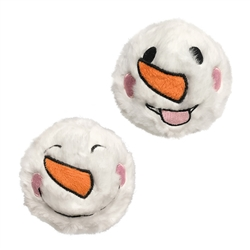 "Snowman Fuzzy Ball Spiker (3"")"