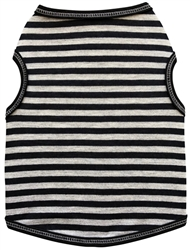 Stripes- Tank - Black/Grey