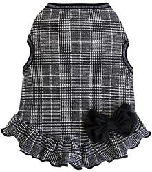 Glen Plaid - Dress - Black/White