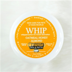 Oatmeal Honey Almond 4oz WHIP