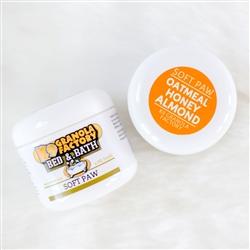 Oatmeal Honey Almond Soft Paw 4oz
