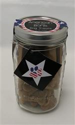 American to the Bone Mason Jar
