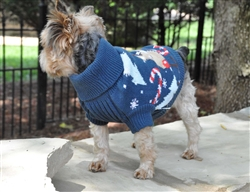 Christmas 100% Pure Combed Cotton Ugly Dog Sweater REINDEER