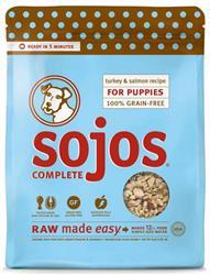 Sojo's Complete Puppy Food Mix - Turkey & Salmon Recipe 1 lb.