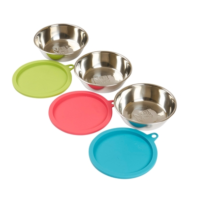 6pc Bowl and Lid Box Set by Messy Mutts