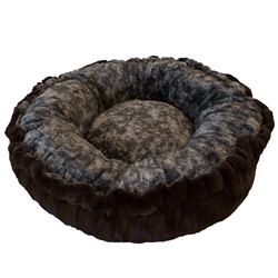 Bagelette Bed- Godiva Brown and Koala or Customize your Own