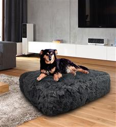 Sicilian Rectangle Bed Wolfhound Grey or Customize your Own