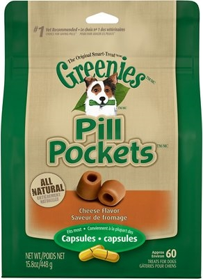 Greenies Pill Pockets for Dogs Cheese Flavor