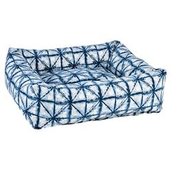 Shibori Microvelvet Dutchie Bed