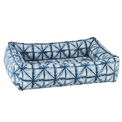 Shibori Microvelvet Urban Lounger with Shibori Piping