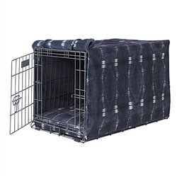 Bali Microvelvet Crate Cover with Bali Piping