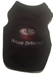 """Happy Birthday"" Tank Black"