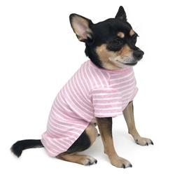 Basic Stripe Top Pink