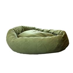 Sage Green Large Dog Bed