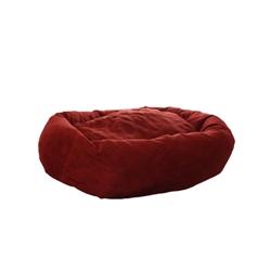 Wine Red Medium Dog Bed