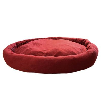 Wine Red XX-Large Dog Bed