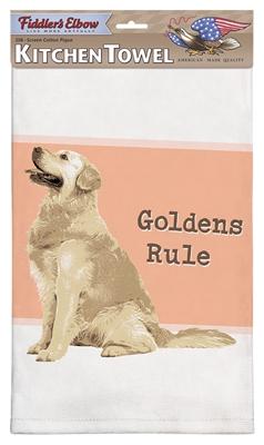 Golden Retriever Kitchen Towel