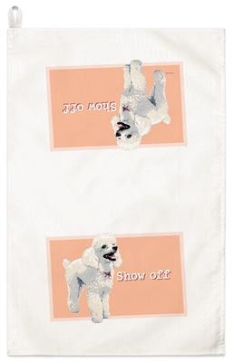 Poodle Kitchen Towel