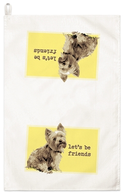 Yorkie Kitchen Towel