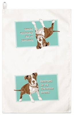 Pit Bull Kitchen Towel