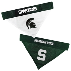 Michigan State Reversible Bandana