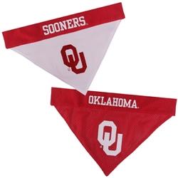 Oklahoma Sooners Reversible Bandana