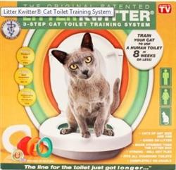 Litter Kwitter - 3 Step Cat Toilet Training System
