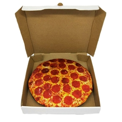 "10"" Pizza Plush Toy"
