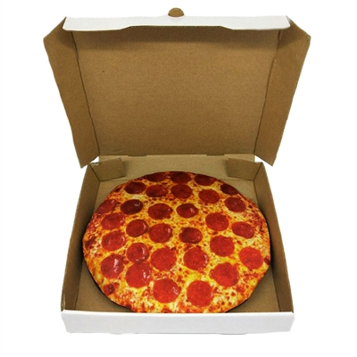 """10"""" Pizza Plush Toy - Case of 3"""
