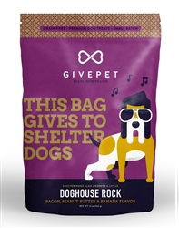 GivePet - Doghouse Rock Dog Treats, 12 oz. bag