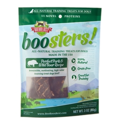 Perfect Pork & Wild Boar Training Treats, 3oz. bag