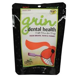 Grin® Canine Dental Health: 4 oz. bag