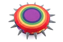 Spiked!ByPLAY_Rainbow Pet Bed