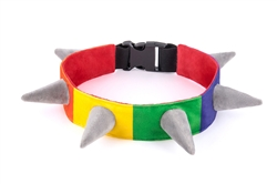 Spiked!ByPLAY_Rainbow Collar
