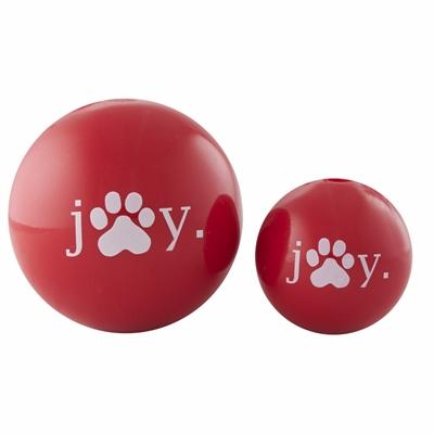 """2.5"""" Joy Orbee-Tuff® Holiday Ball - Red"""