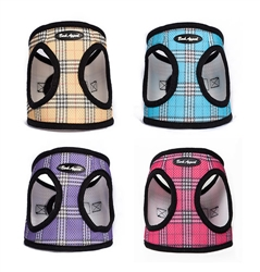 STARTER PACKAGE - 16 Plaid Mesh EZ Wrap Step In Harnesses