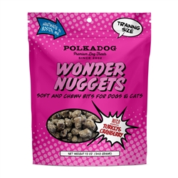Wonder Nuggets with Turkey & Cranberry - 12oz Bag