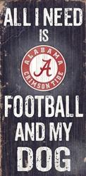 University of Alabama Football and My Dog Sign