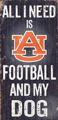 Auburn University Football and My Dog Sign