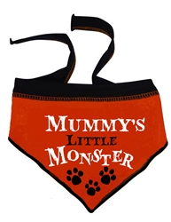 Mummy's Little Monster - Scarf - Orange