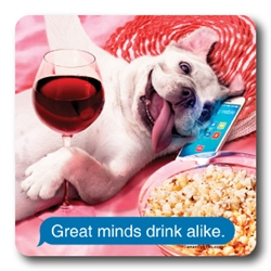 Great Minds Drink Alike Coasters