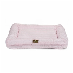 Baby Pink Chinchilla Mink Crate Cuddler - COPY