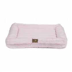 Baby Pink Chinchilla Mink Crate Cuddler